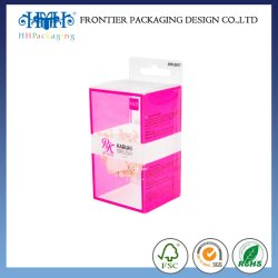 Custom transparente PVC cúbicos/PP/PET Caixa de plástico transparente e Caixa de plástico de casamento romântico para doces, bolo de chocolate Embalagem