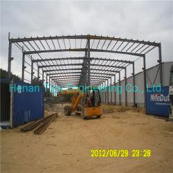 Предварительно созданный промышленного завода сборных легких стальных структуры здания/склада/Рабочего совещания