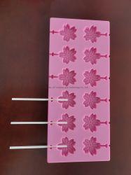 Moldes de silicona personalizados molde de flores molde de molde molde molde Lollipop molde