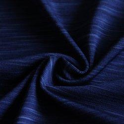 170GSM-Джерси вязание ткань с 90%полиэстер 10%спандекс Space-Dye высокого натяжения для одежды/ФУТБОЛКА/верх