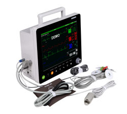 Срп Sinnor9000V/Vet12V Multi ветеринарного контроля параметров мониторинга ETCO2 Портативный монитор AG бис