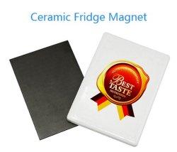 Promoção Sublimação Retângulo de cerâmica magnético ímã de geladeira da Impressora