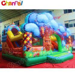 European Hot Sale Fantasy Forest Inflatable Bouncy Castle Playground Amusement Park für Kinder Chob658