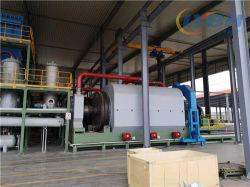El neumático de residuos de plástico reciclado de caucho de la planta de procesamiento de la pirólisis para hacer combustible