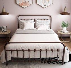 Simple concis plate-forme moderne de cadres de lit en cuir