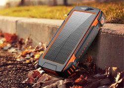 カスタムロゴの携帯電話の充電器の防水太陽エネルギーバンク