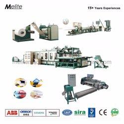 A Norma CE PS Isopor Espuma Lancheira Recipiente para alimentar a linha de produção da Máquina (MT105/120)