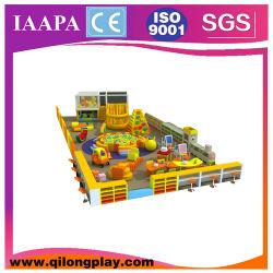 Новейшие Kids мягкая игровая площадка с шаровым бассейн (QL-16-15)