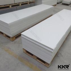 Reine weiße feste Oberfläche Fahrwerk-Staron, feste Oberflächenplatten