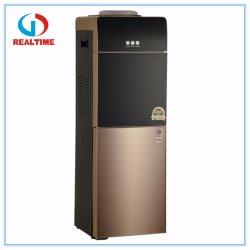 Fría y caliente de vidrio templado con dispensador de agua de refrigeración del compresor frigorífico