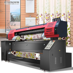 Nylon TextielPrinter met Dx7 Printheads Epson 1.8m/3.2m van Af:drukken van de Breedte 1440dpi*1440dpi- Resolutie voor Stof die direct afdrukken