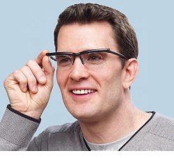 Visión ajustable Focus gafas de lectura miopía Gafas -6D a +3D Lente Variable con lupa binocular Porta Oculos