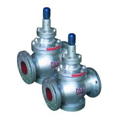 Pn16鋳造物鋼鉄ステンレス鋼ピストン圧力調整器の蒸気圧力減圧弁