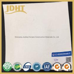 Meilleure qualité de longue durée de vie Tpo feuille blanche une membrane étanche à la norme ASTM