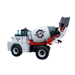 A BST 2cbm Motor Diesel Betoneira Truck preço de fábrica para o projecto de construção de construção