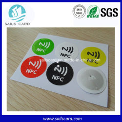 맞춤형 인쇄 가능 롤 용지 RFID NFC 스티커
