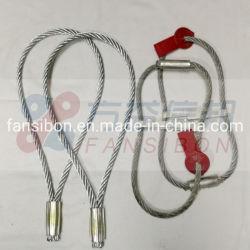 Les outils de levage Galvnized Wire Rope élingue Fils en acier inoxydable à haute résistance du câble de corde une élingue de levage