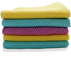 De duurzame Handdoek van de Was van de Keuken van Microfiber van de Micro- Doek van de Stof Schoonmakende