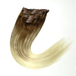 """18 """" Clip de Remy Hair Extensions directement de diverses couleurs 7-10PCS"""