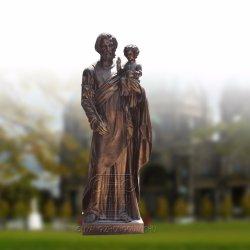 종교 주조 청동 동상 교회 예수 조각