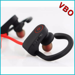 De nieuwe Oortelefoon van Bluetooth van de Sporten van het Ontwerp, Waterdichte Draadloze Hoofdtelefoon, StereoHoofdtelefoon Bluetooth voor Mobiele Telefoon
