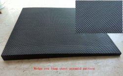 Modèle de pyramide de diamant Feuilles en caoutchouc EVA pour chaussures de haute qualité Sole