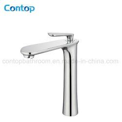 Produits de salle de bain à une poignée Robinet de lavabo à haute résistance en laiton