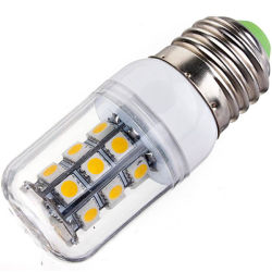 Lampadina economizzatrice d'energia dell'indicatore luminoso bianco 3W 5050 della striscia 350lm del supporto 25 LED della lampada E27