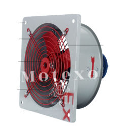 Стены установлена табличка с вентилятора осевых вентиляторов промышленных электровентилятора системы охлаждения двигателя