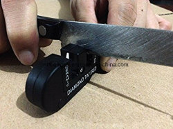 La multi funzione Pocket lavora la macchina per affilare i coltelli Pocket Foldaway di Keychain con le lamierine prestabilite dei carburi, le pietre di ceramica Rod Diamante-Rivestito per l'affilamento del Esg10144