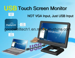 "Táctil resistiva de 4 hilos 10.1""LCD monitor USB"