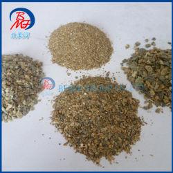 Alimentos para animales y Vermiculita yesos utiliza vermiculita