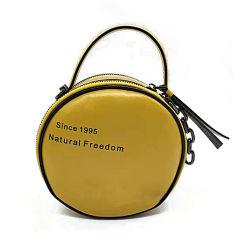 Señoras personalizado de estilo vintage verano Eslinga redonda Messenger Crossbody hombro bolso para mujer