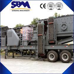 Les fabricants de béton Mobile Agrégat de roche calcaire usine de broyage de pierre de granit