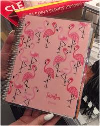 PVCカバー2019日の週間立案者のオルガナイザーのノート