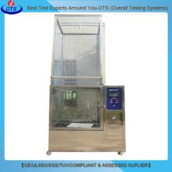 China climáticas automático de pulverización de agua de lluvia de la cámara de prueba de ducha con grado IP IPX5 IPX6