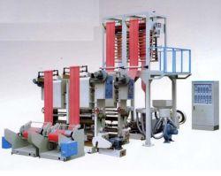 ماكينة إنشاء فيلم Hdpe LDPE و البولي إيثيلين خط توصيل الطباعة أداة استخراج الأفلام البلاستيكية