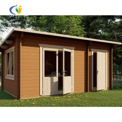 Prefab Camping pequena casa de madeira de Lazer