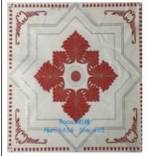 Los materiales de construcción la plaza de PVC de azulejos de techo material decorativo
