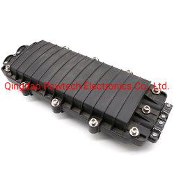 Cable de fibra óptica tipo horizontal de empalme de fibras de plástico de cierre de 24