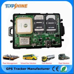 Inseguitore doppio di GPS del veicolo del sistema di inseguimento del telefono mobile della scheda di SIM