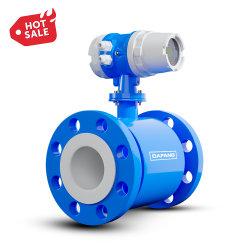 Contatore elettromagnetico liquido delle acque di rifiuto dell'affissione a cristalli liquidi Digital RS485 del flussometro di Dn10-1000mm