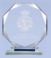 Premio di cristallo diretto della fabbrica, premio di vetro, trofeo di cristallo, trofeo di vetro