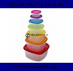 Пользовательские системы впрыска пластика производителем пресс-форм 7 цвета Размер пластиковый контейнер для продуктов питания пресс-формы (результате столкновений повредил руку -774 ПРЕСС-ФОРМЫ)