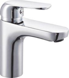 Bonnes ventes Corps en alliage de zinc le robinet du bassin à levier unique