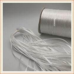 Qualitäts-Polyester-Kennsatz, der Polyester-Satin-Farbband bildet