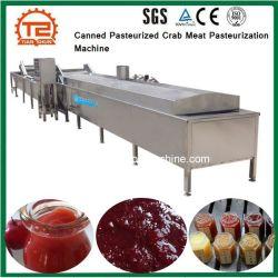 Les conserves de viande de crabe pasteurisée matériel de stérilisation la pasteurisation Machine