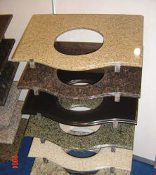 Barra de granito chinês vaidade Preço Tops bancadas personalizado para banho, cozinha,Bar, Ilha
