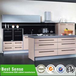 Amostra disponível diretamente da fábrica laca de armários de cozinha moderna