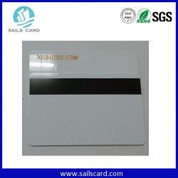 Cr80 Tarjetas de PVC blanco con banda magnética